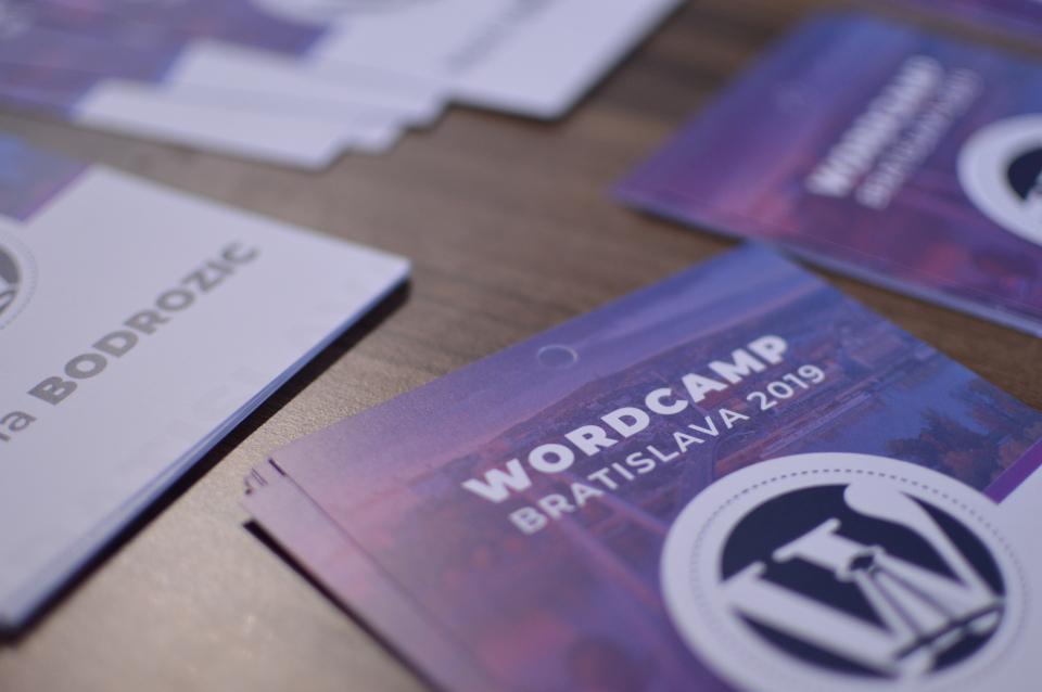 Zeni and WordCamp Bratislava 2019