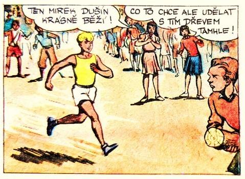 Házení klacků pod nohy, Mladý hlasatel, IV. ročník, leden 1939
