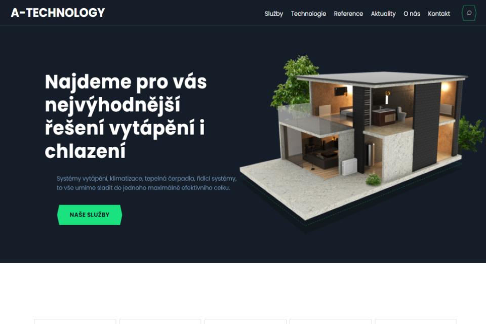 tvorba webové stránky